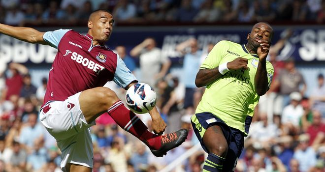 Winston Reid: West Ham defender was unable to play for New Zealand due to back injury