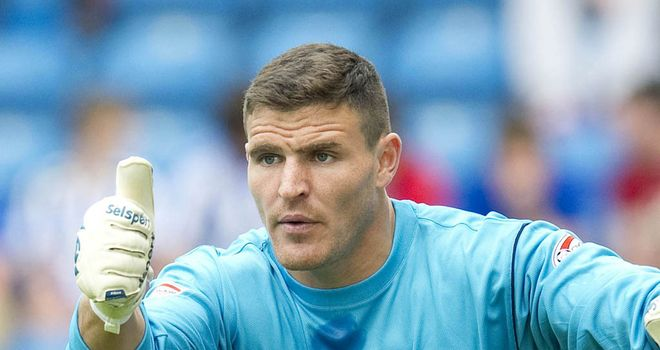 Kyle Letheren: Last appearance was against Inverness in February