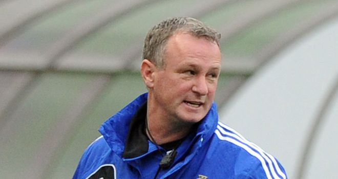 Michael O'Neill: First qualifier with Northern Ireland