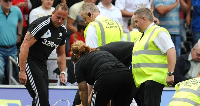 Neil Taylor: Swansea full-back is out for the rest of the season with a broken ankle