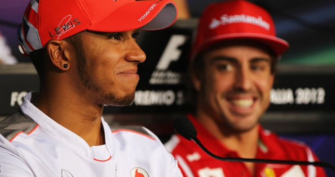 Hamilton and Alonso: The best of rivals