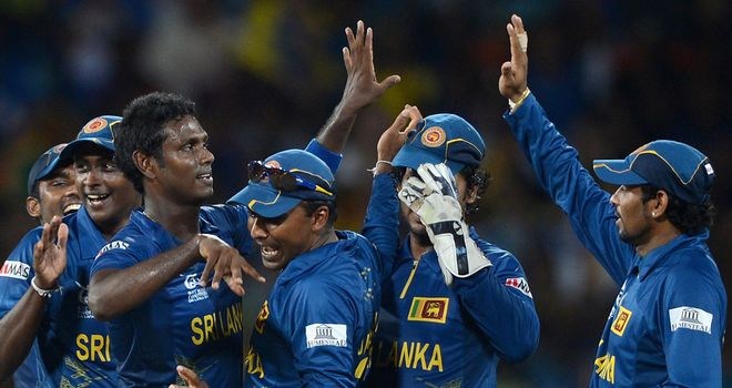 Sri Lanka won the World T20 in 2014