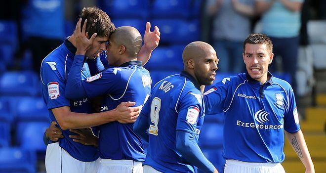 Nikola Zigic: On target late on for Birmingham in draw with Burnley