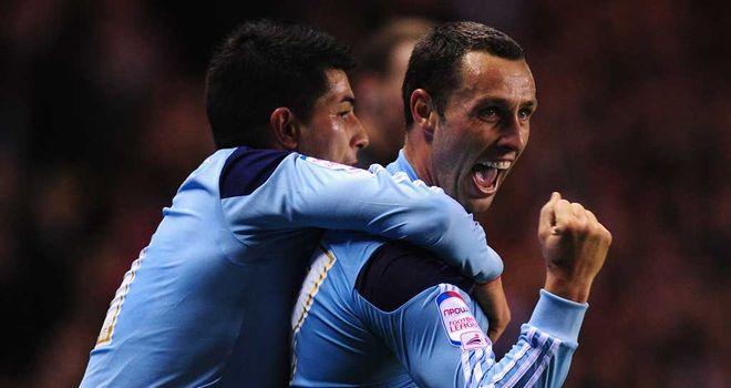 Scott McDonald: Striker celebrates winning goal for Middlesbrough