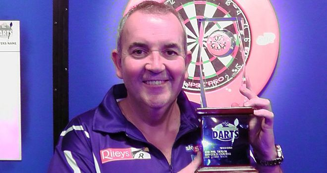 Phil Taylor: simply perfect display, including whitewashing Dave Chisnall in the semi-finals