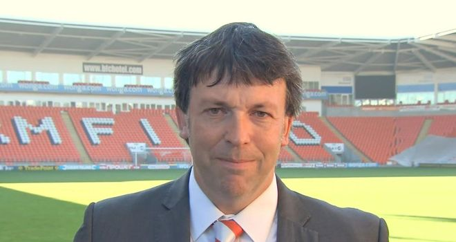 Blackpool chairman Karl Oyston is delighted to have Paul Ince as manager