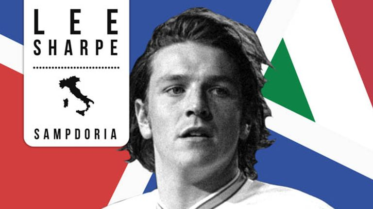 Former Manchester United winger Lee Sharpe enjoyed a brief spell in Serie A at Sampdoria