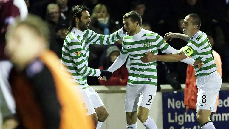 Adam Matthews: His goal won it for Celtic at Arbroath