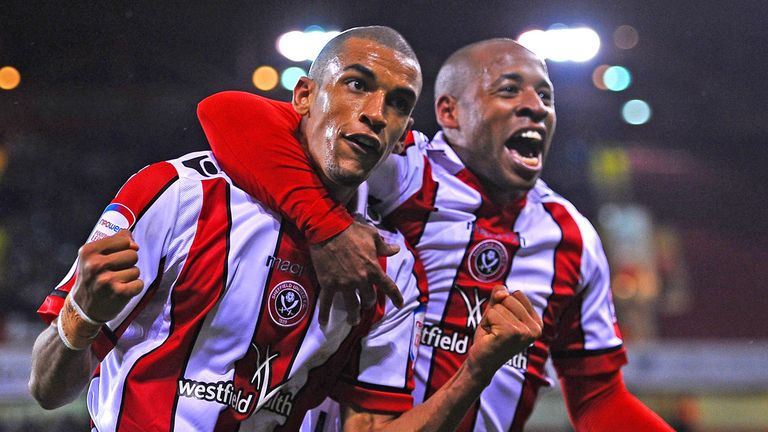 Blackman also played for Sheffield United - scoring 11 times in 28 games