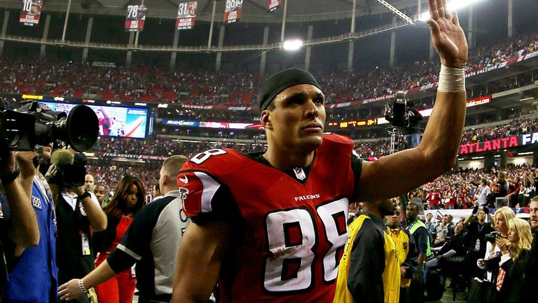 Former Kansas City Chiefs and Atlanta Falcons tight end Tony Gonzalez is part of the 2019 Hall of Fame class
