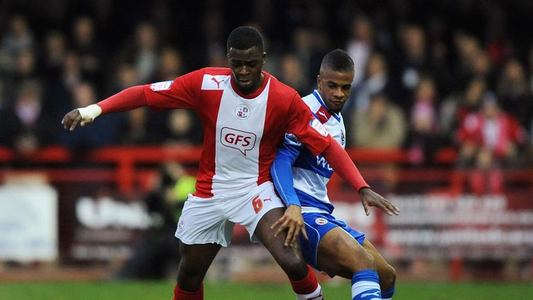 Hope Akpan: Impressed Reading bosses in the recent FA Cup tie