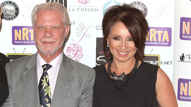 David Gold: With daughter Jacqueline last summer