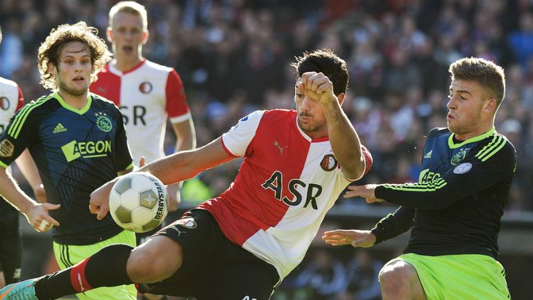 Graziano Pelle: Has signed a permanent deal with Dutch side Feyernoord