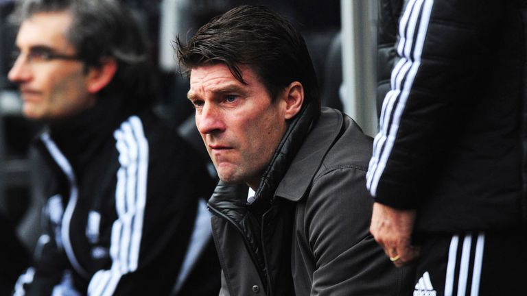 Michael Laudrup: On the verge of delivering Swansea's first major trophy