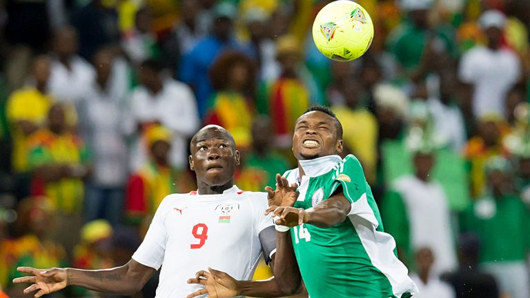Godfrey Oboabona: Starred for Nigeria as they landed the 2013 Africa Cup of Nations crown