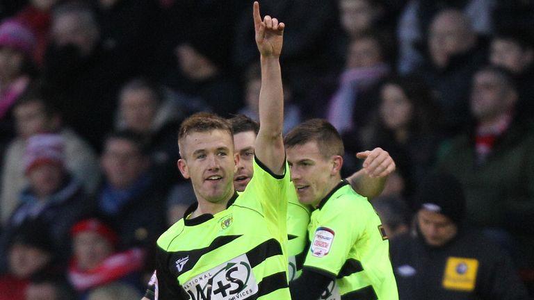 Madden: Scored twice for Yeovil