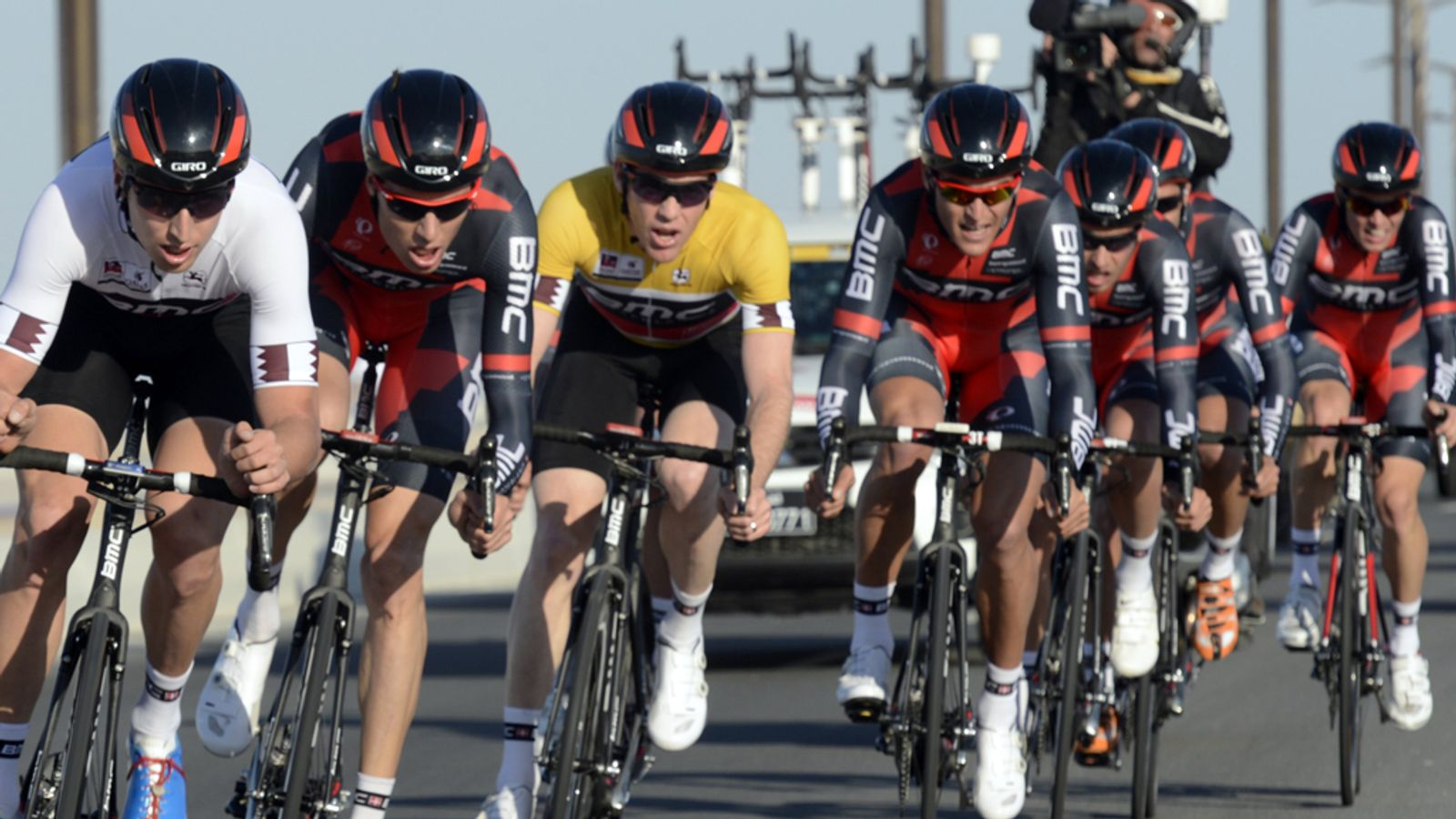 BMC win Tour of Qatar team time trial as Brent Bookwalter extends overall lead