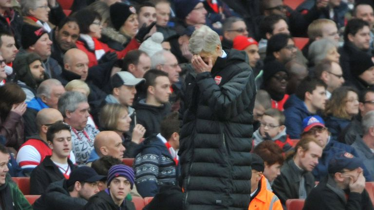 Arsene Wenger: Desperate for Arsenal to bounce back quickly from their FA Cup exit