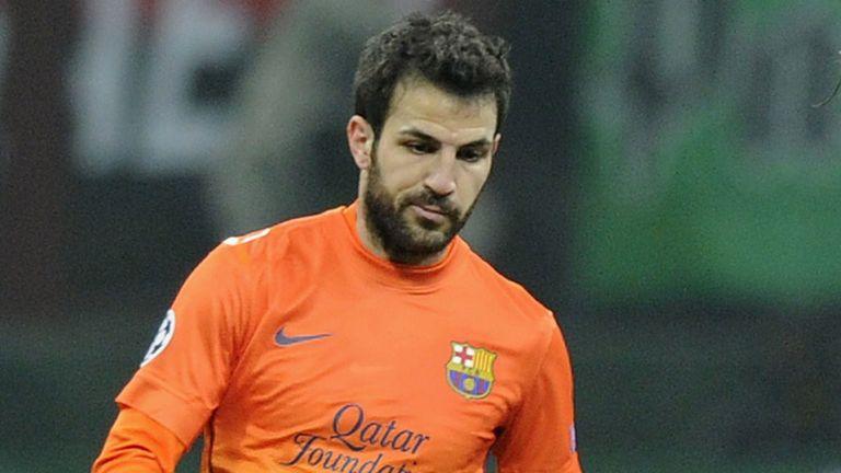 Cesc Fabregas: Barcelona midfielder considering his future