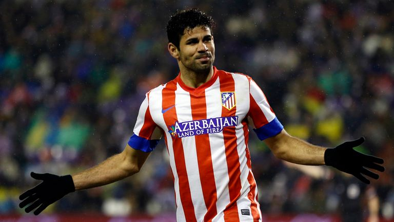 Diego Costa: Signed new deal at Atletico Madrid, according to Brendan Rodgers