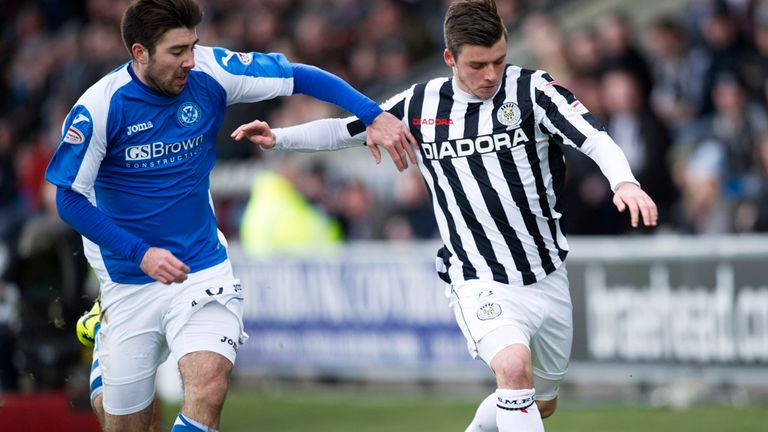 Graham Carey: On his way out of St Mirren this summer