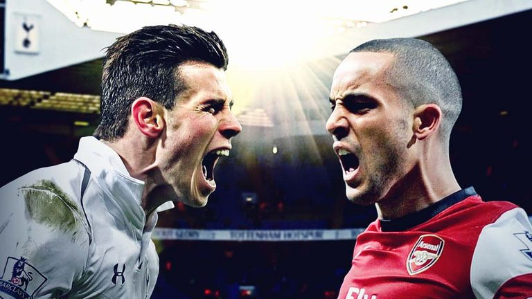 Gareth Bale and Theo Walcott will be hoping to illuminate derby day in north London