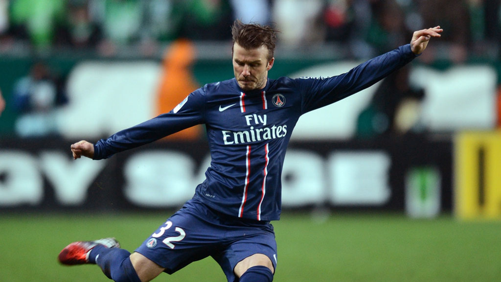 91d38fe97 David Beckham to captain Paris Saint-Germain in final home match ...