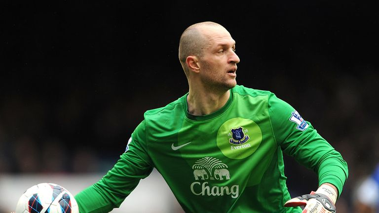 Jan Mucha: Out of contract at Everton in the summer
