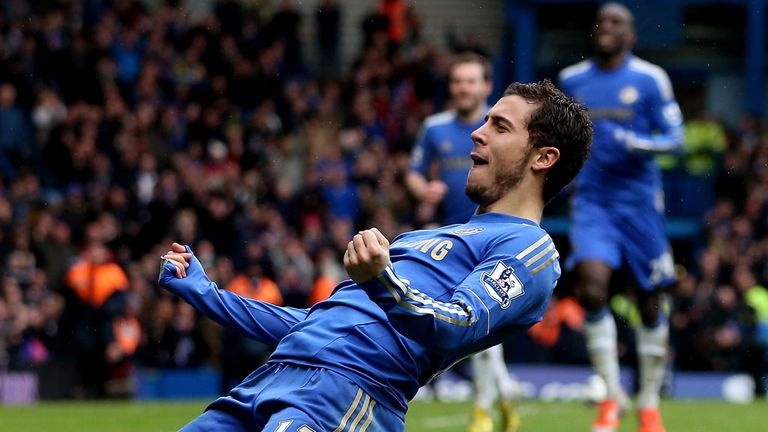 Eden Hazard: Missed the 1-0 win at Old Trafford but returns to the squad against Spurs