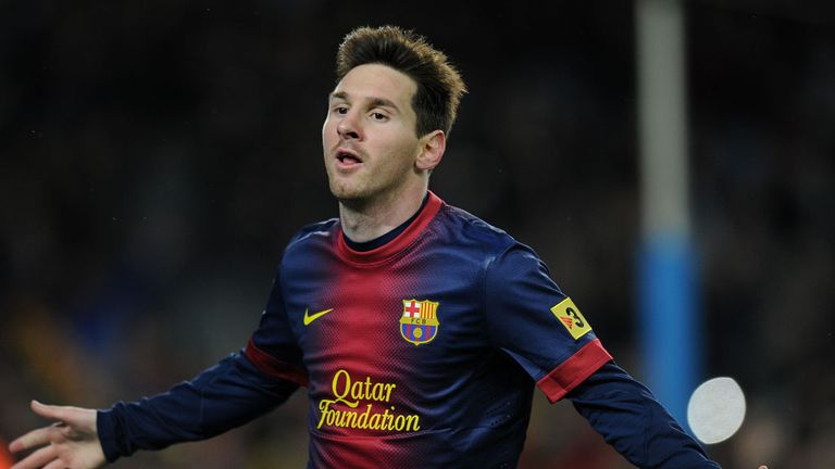 Lionel Messi: Stepped off the bench to net twice for Barcelona