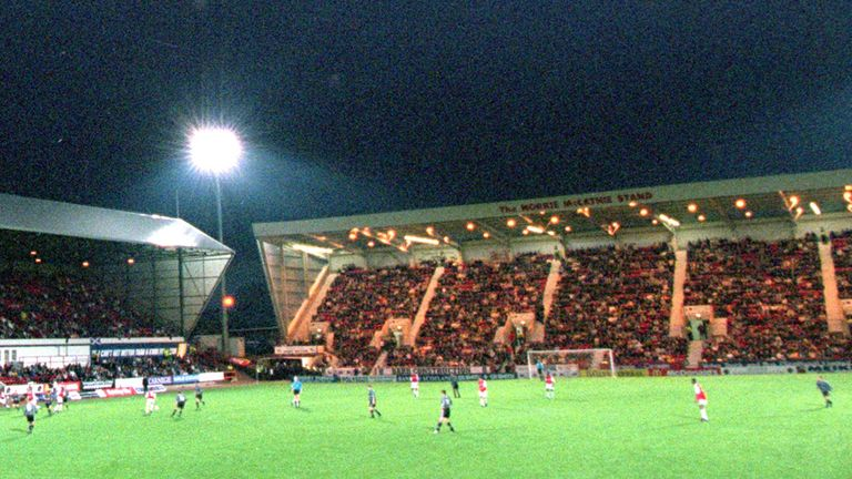 East End Park: Home of Dunfermline