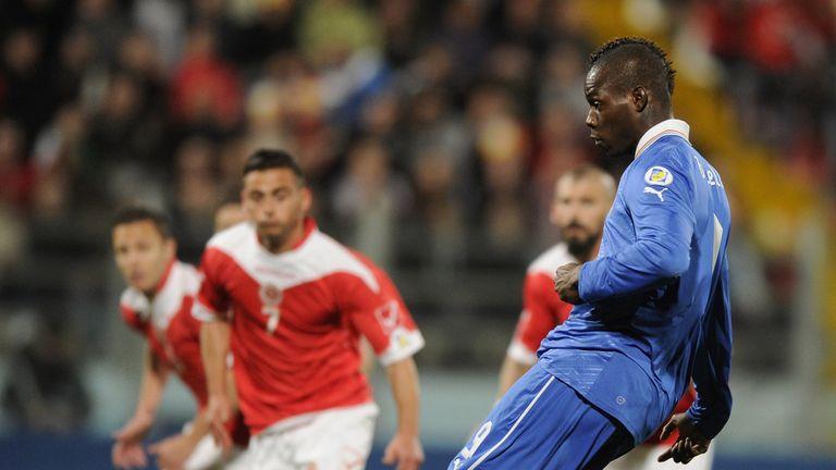 Mario Balotelli: Scored for Italy