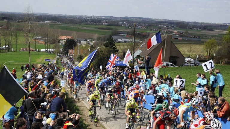 The Tour of Flanders is one of the five Monuments