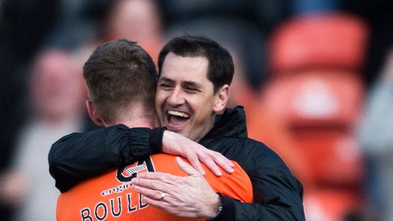 Jackie McNamara: Relieved to get Ross County monkey off his back