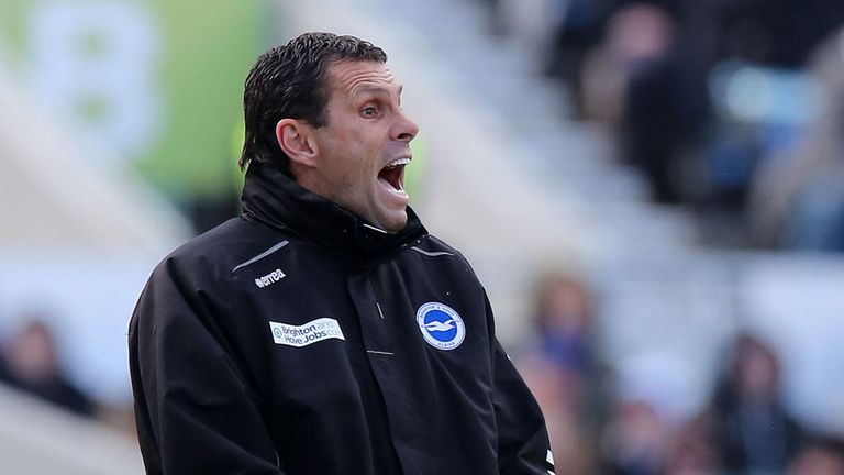 Gus Poyet: Glad to secure play-off place