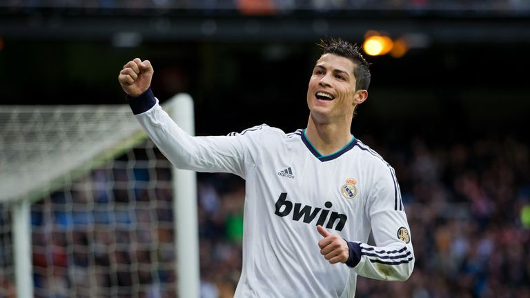 Cristiano Ronaldo: Reported to be a summer transfer target for Manchester United