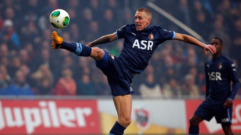 Lex Immers: Scored Feyenoord's second on Sunday