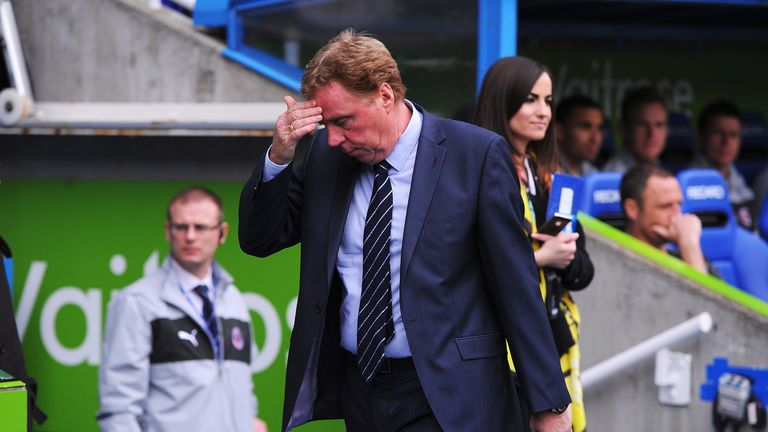 Harry Redknapp: Says QPR players will have to work hard in the Championship