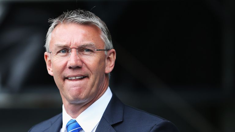 Nigel Adkins: Looking forward after Reading's relegation from the Premier League