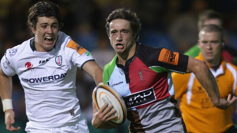 Miles Mantella: Joining Harlequins on a permanent deal