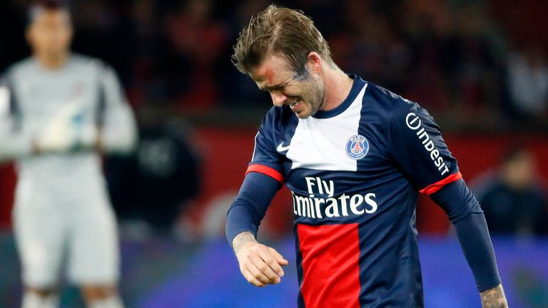 Beckham was brilliant as PSG won