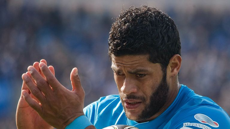 Hulk: Brazil striker has been linked with some of Europe's richest clubs.