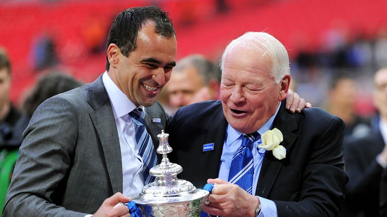 Roberto Martinez: Linked with a move to Everton but Dave Whelan hopes he will stay