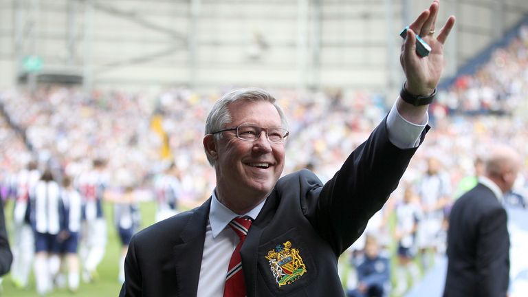 Sir Alex Ferguson: Brought his 1500-game United career to an end at the Hawthorns