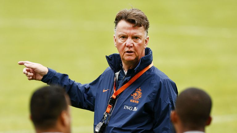 Louis van Gaal: Five uncapped players for the friendly against France