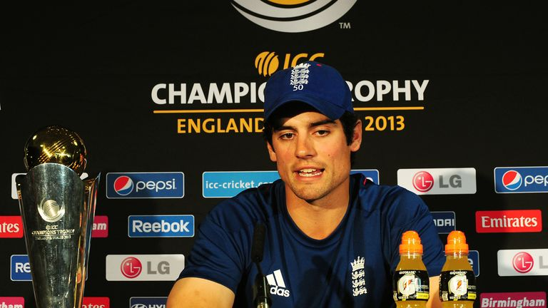 ICC Champions Trophy: Alastair Cook confident England can upset India in final