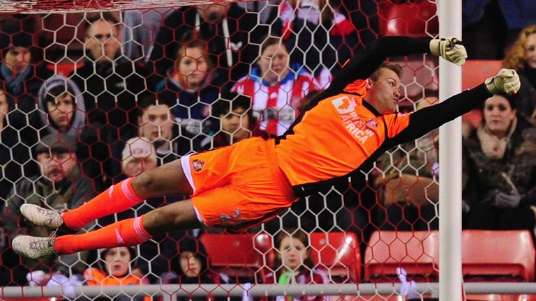 Simon Mignolet: Liverpool have reportedly agreed a fee for the Sunderland goalkeeper