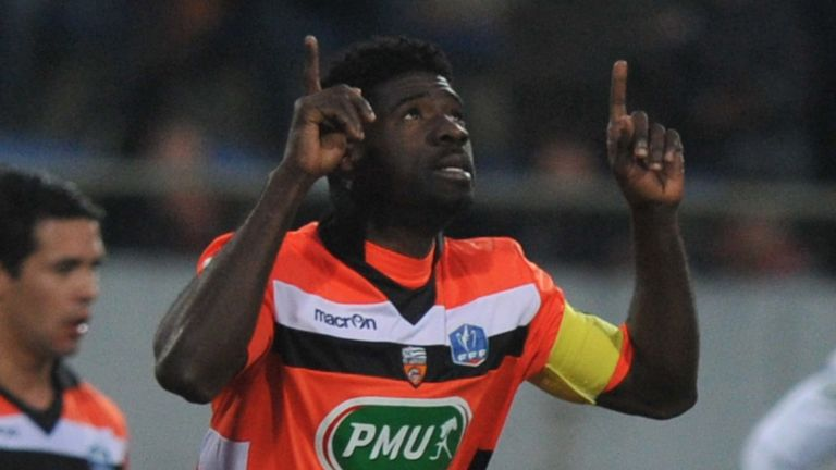 Ecuele Manga: The Lorient defender wants to play in England in the next season
