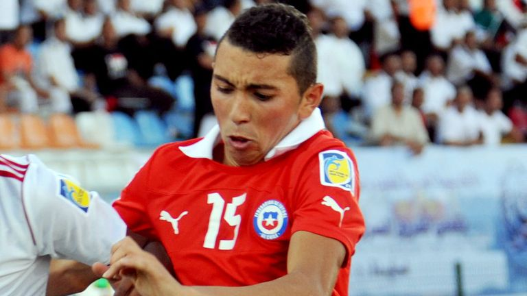 Cristian Cuevas: Only signed for Chelsea last month
