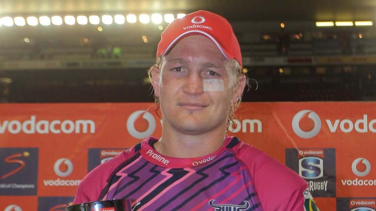 Dewald Potgieter has been added to Worcester's back-row options